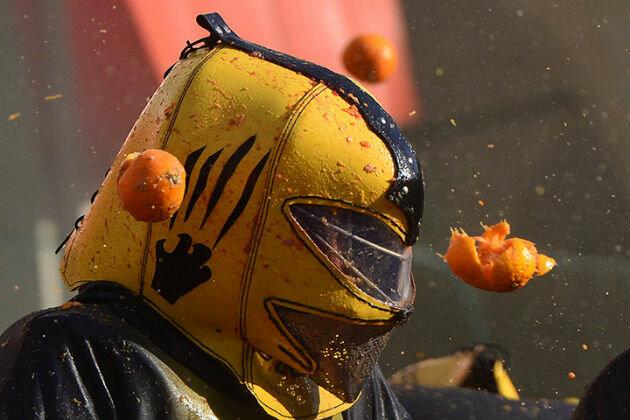 Апельсиновая битва