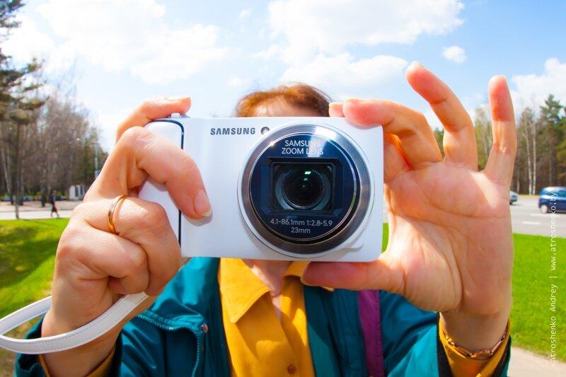 реклама samsung galaxy camera
