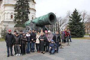 6-А класс в Московском Кремле