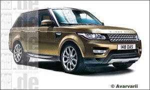 Новый Range Rover Sport появится в марте 2013 года