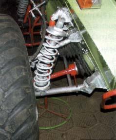 Подвеска и привод ведущего колеса вездехода Лопасня - все на виду