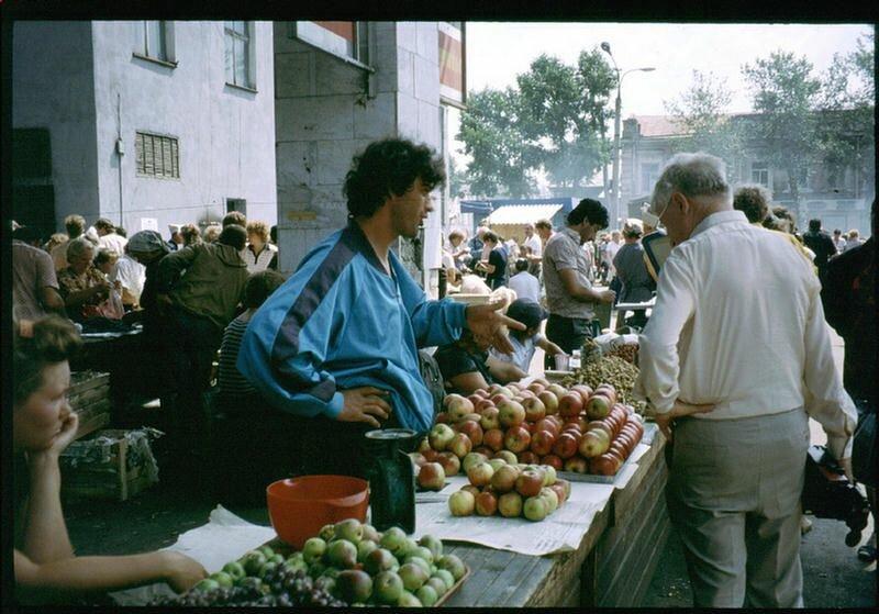 132. На иркутском рынке