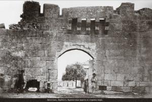Крепостные ворота со стороны моря
