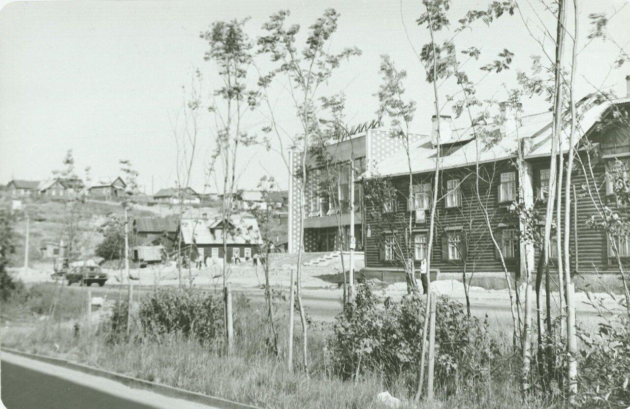 Улица Полярные Зори (бывшая ул.Микояна) 1973 год.