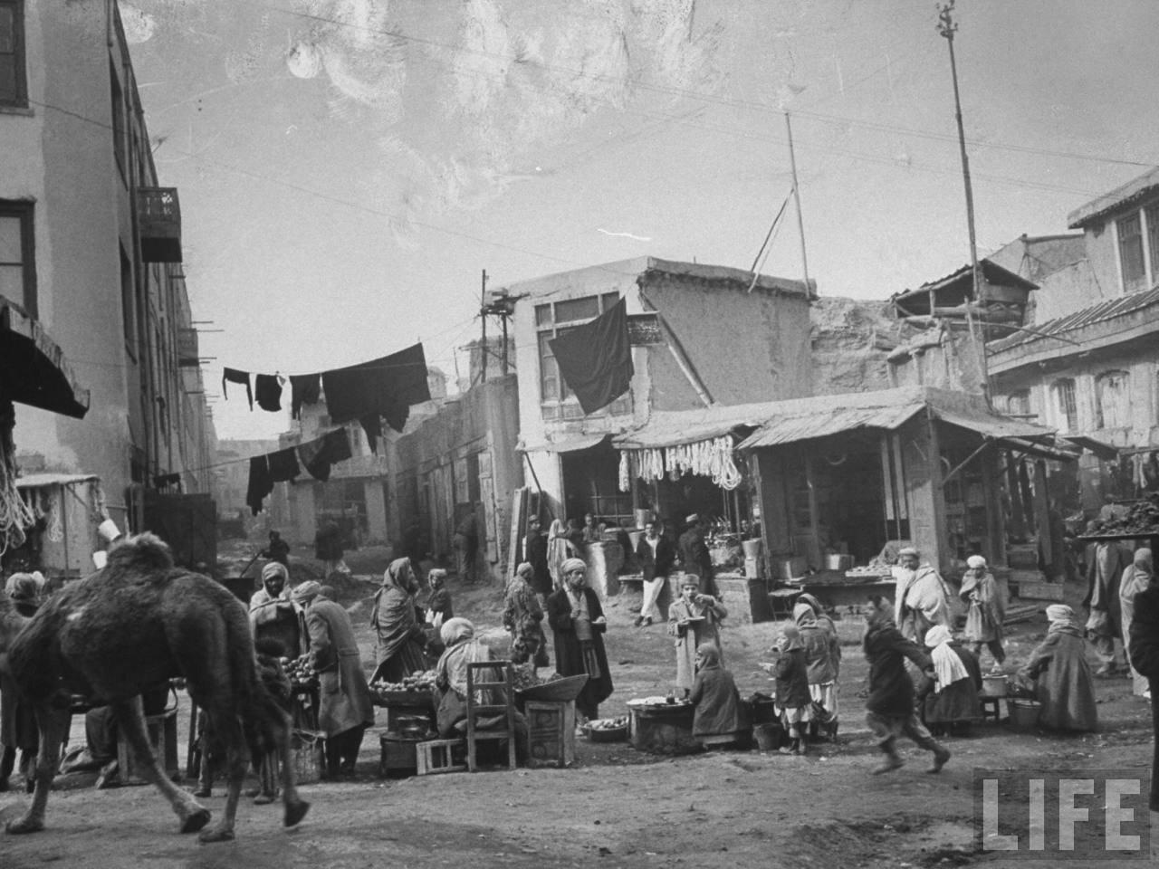 Старая часть базара Кабула