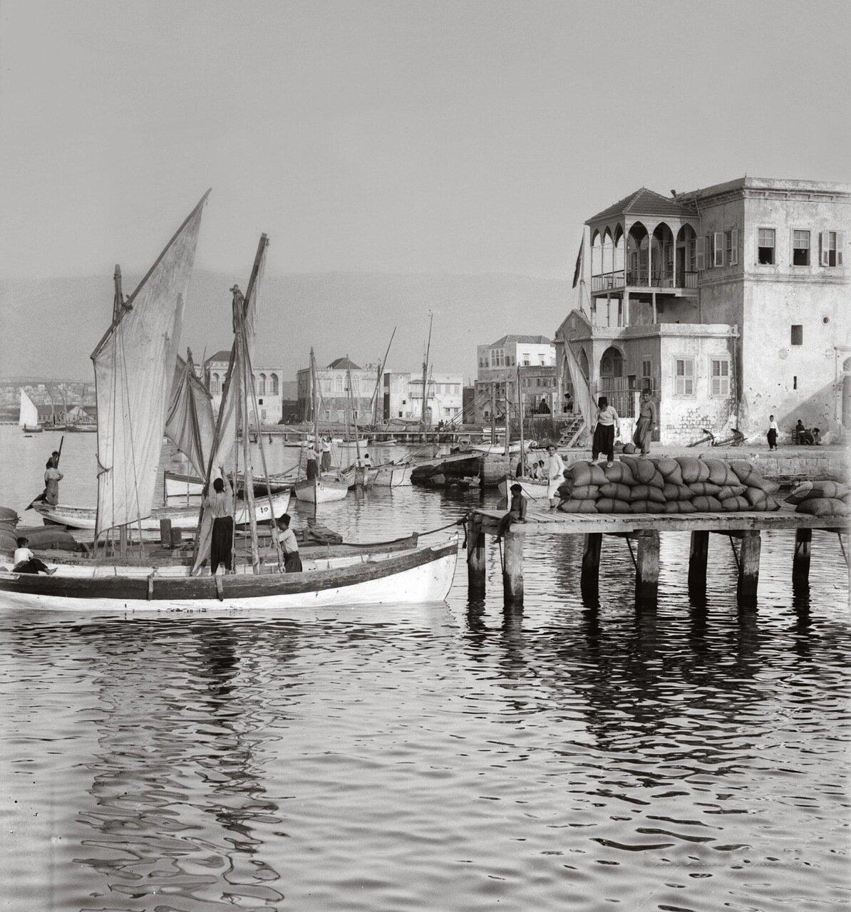 Порт Эль-Мина. Триполи, Ливан. 1900-1920 гг.