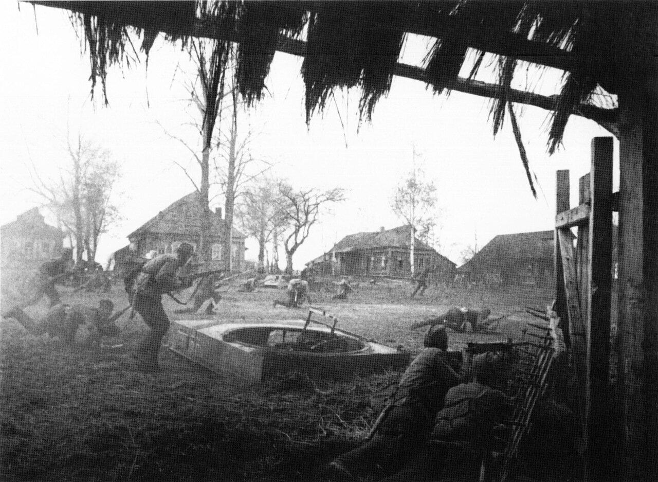Бой за деревню 1941 г.