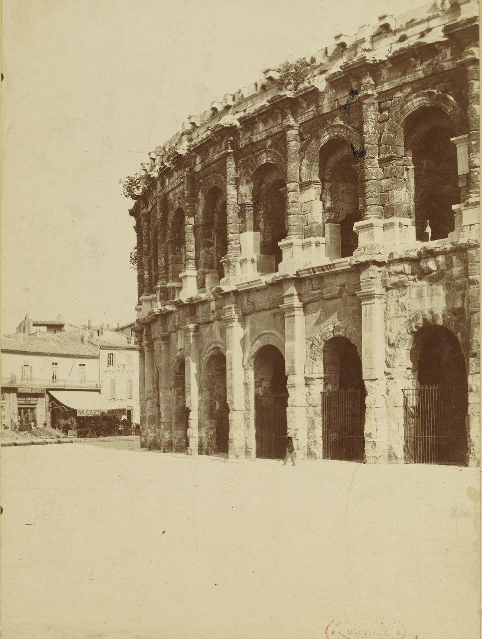 1886. 01. Фасад амфитеатра
