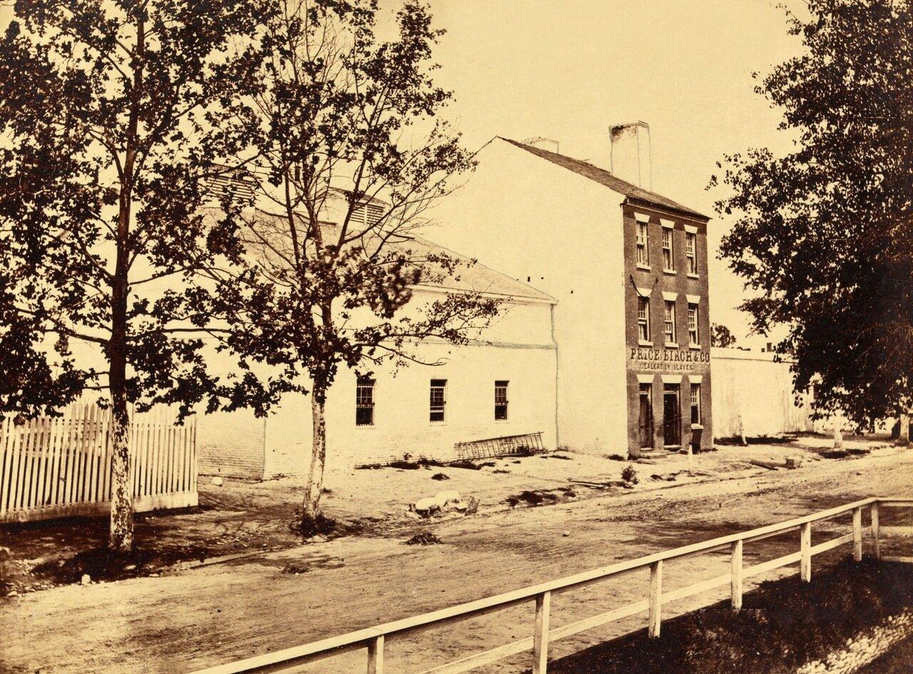 Барак для рабов. Александрия, Вирджиния. Август 1862 г.