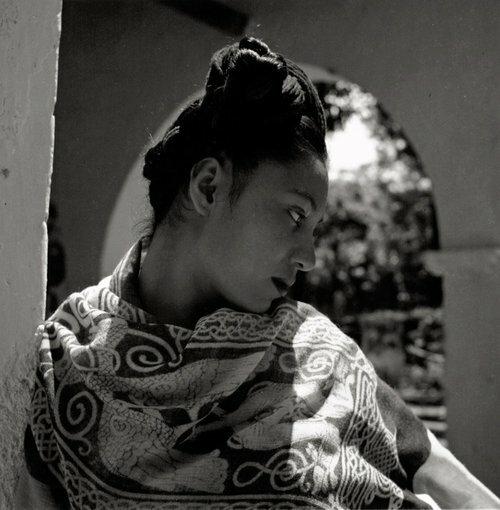 Fritz Henle - Nieves, a model of Diego Rivera, Cuernavaca, Mexico. 1943