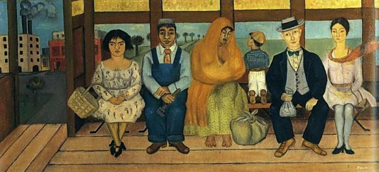 Кало, Фрида. Автобус. 1929 г.
