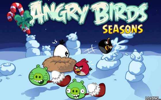 Angry Birds Seasons: Winter Wonderham! для Android