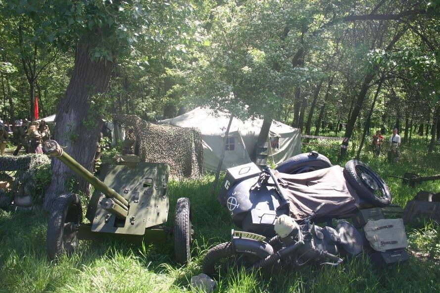В парке Победы пели военные песни и пробовали полевую кухню, фото-1
