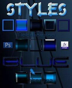 Голубые стили для Photoshop / Blue Styles Photoshop 0_be956_51d7440_M