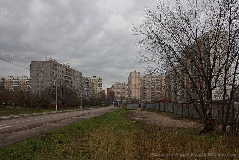 Фрязино, проезд Десантников.