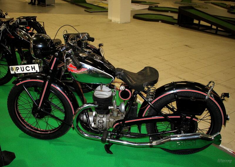 Австрийский мотоцикл Ruch 250 S4