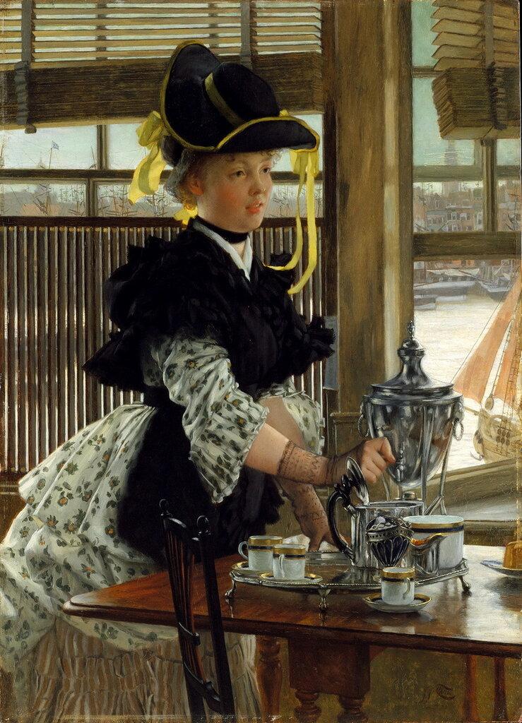 James Tissot - Tea, 1872