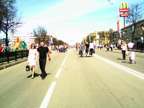 9 мая 2013 Проспект Красной Армии Сергиев Посад