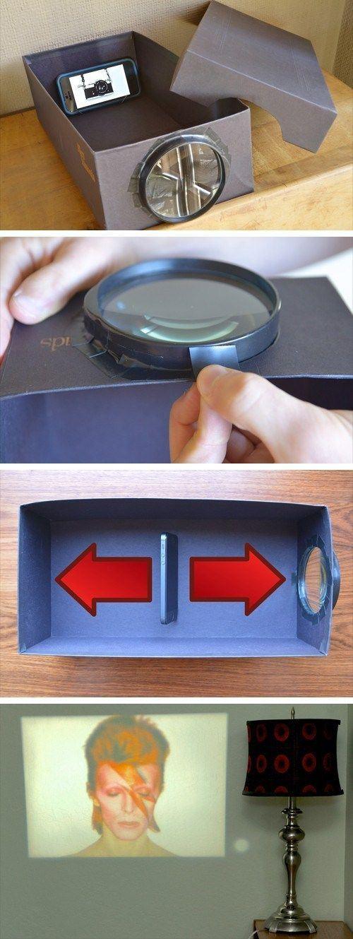 Как сделать чтобы проектор 811