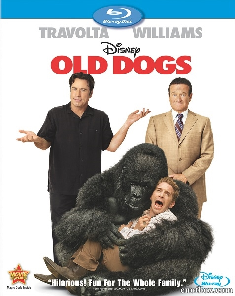 Так себе каникулы / Old Dogs (2009/BDRip/HDRip)
