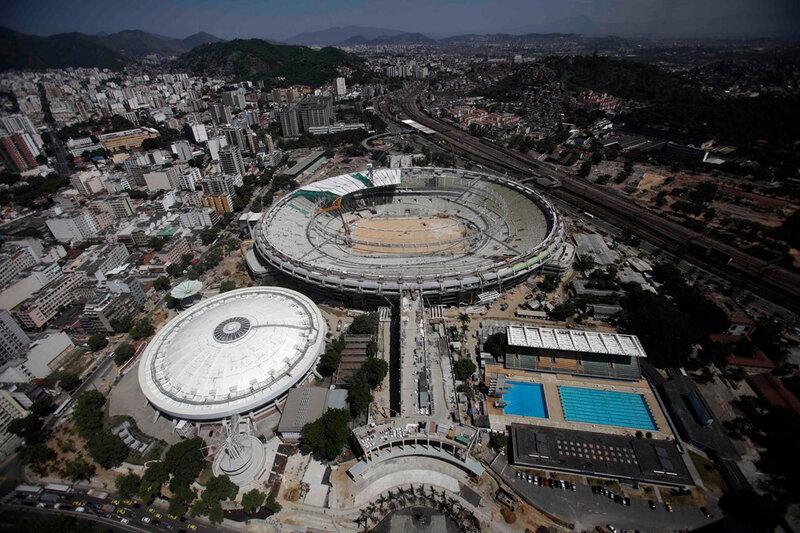 Стадион Маракана готовится к чемпионату мира 0 d9b75 5be7c2e3 XL чемпионаты футбол фотографии стадионы Рио де Жанейро реконструкции Маракана Бразилия