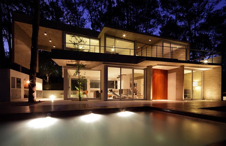 Дом с небом фото
