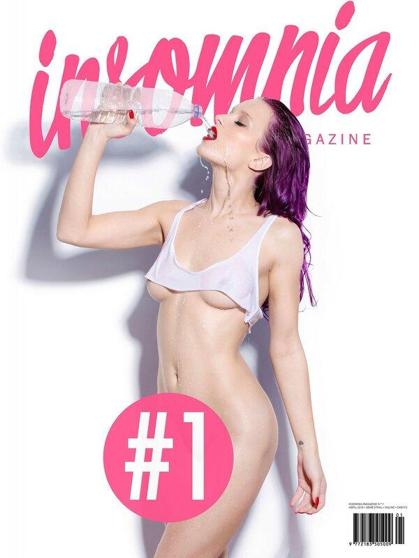 Yana Protasova - Insomnia Magazine Issue 01 April 2015 (4-2015) Portugal