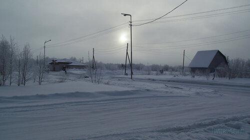 Фото города Инта №3500  Северо-восточный угол Морозова 3 10.02.2013_12:05