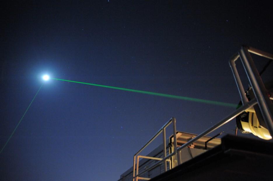 Загадочные лучи, бьющие изЗемли, зафиксировала камера МКС