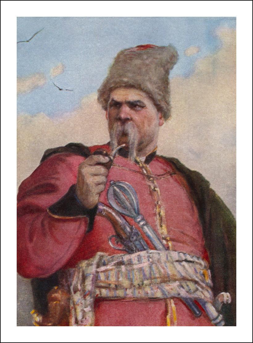 Михайло Дерегус, Тарас Бульба