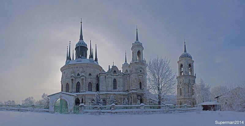 Быково - церковь Владимирской иконы Божьей Матери