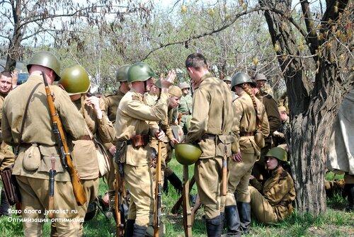 Реконструкция битвы за Луганск 1943 года