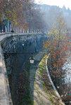 Италия.Рим. Набережная реки Тибр.