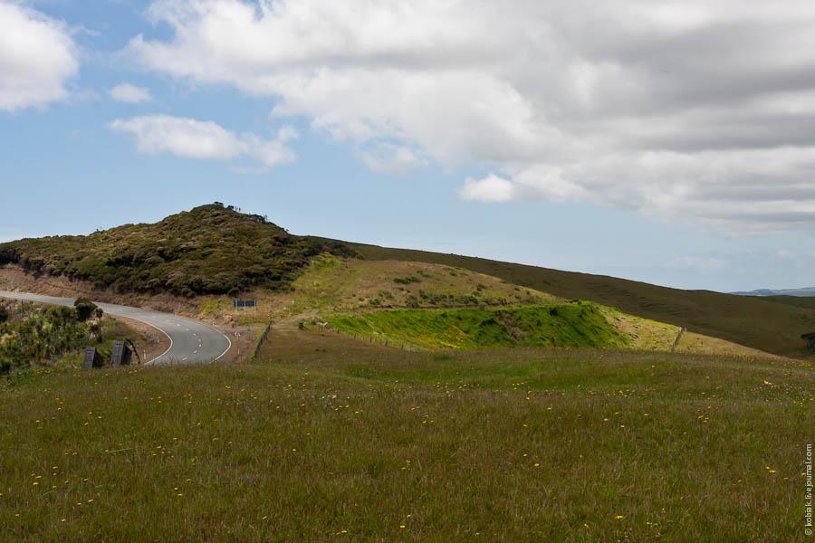 Путешествие Северный остров: Paihia, cape Reinga