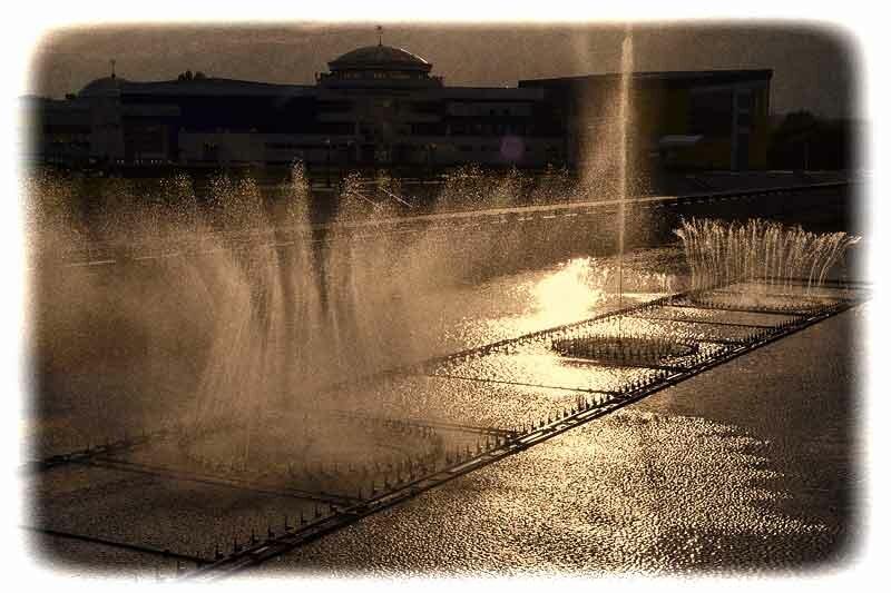 Белгород, плавающий фонтан на Везелице
