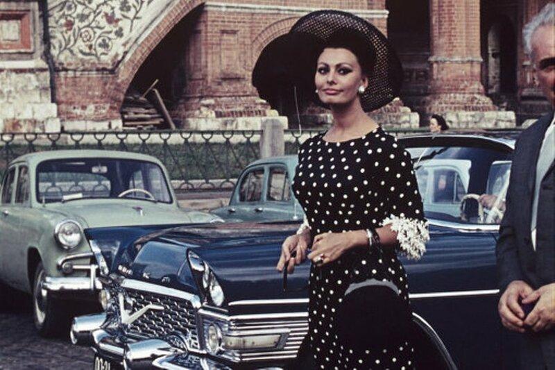 1965 год.  Софи Лорен. IV ММКФ.