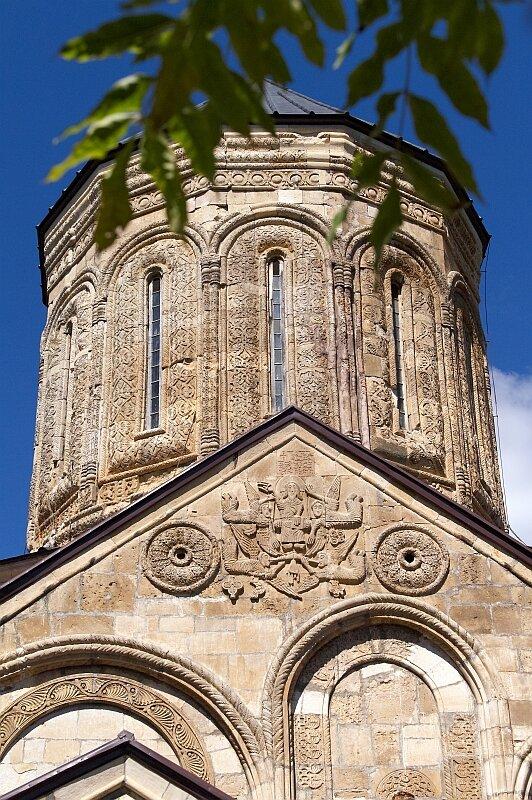 Церковь Никорцминда в Раче. Барабан