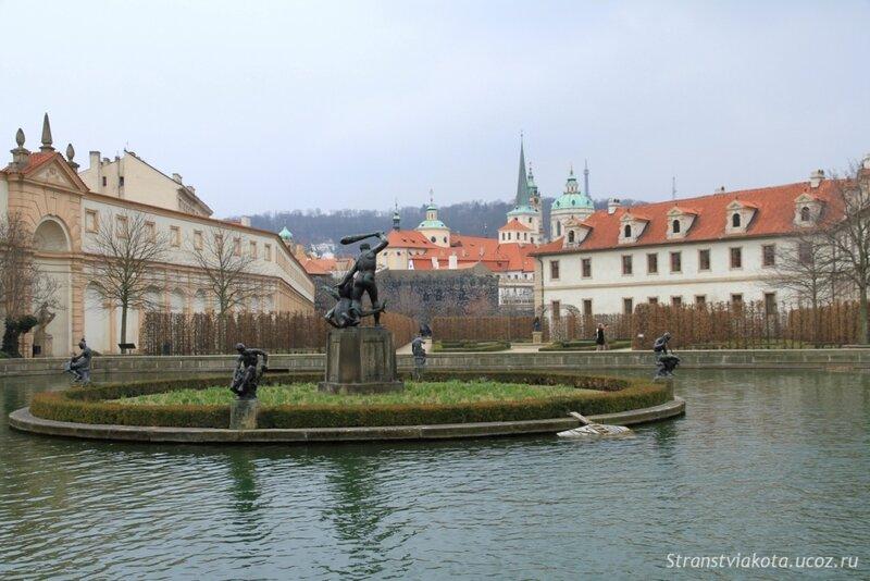 Прага, Вальдштейнский сад