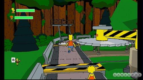 Игра Симпсоны Simpsons game скачать для XBOX 360