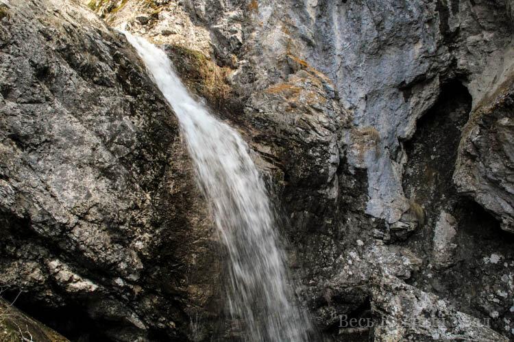водопад шульгна