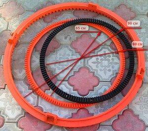 Венец бетономешалки Altrad MK165