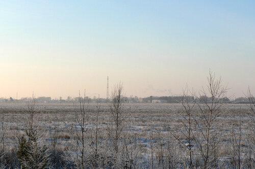 зимняя прогулка пустошь