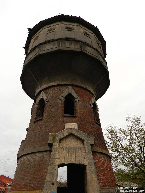 Водонапорная башня в уржуме