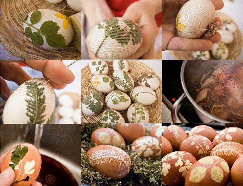 Украшаем пасхальное яйцо своими руками 1106