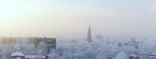 Морозная панорама Москвы