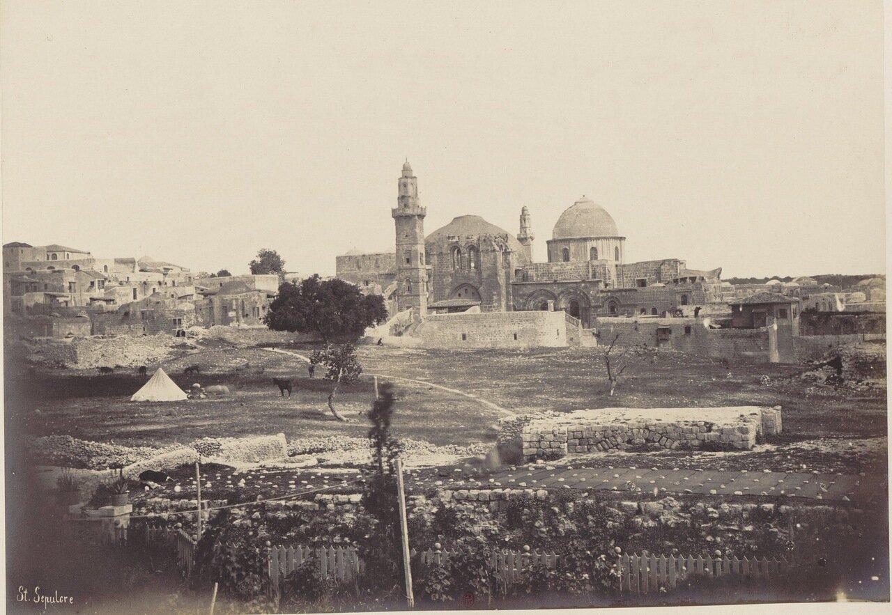 Храм Гроба Господня. 1862 г.