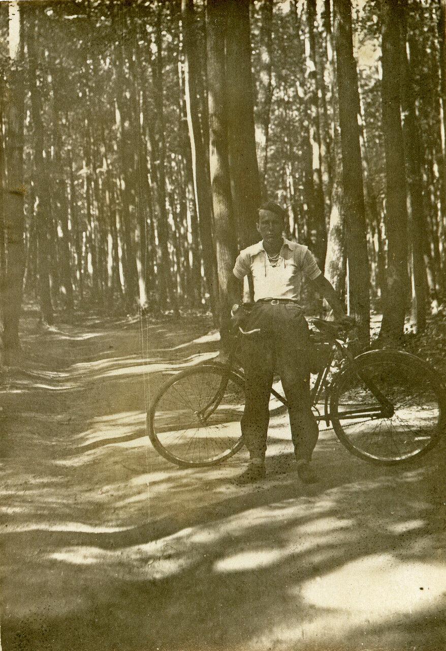 1939. И.Л. Сергеенко,  Филёвский парк
