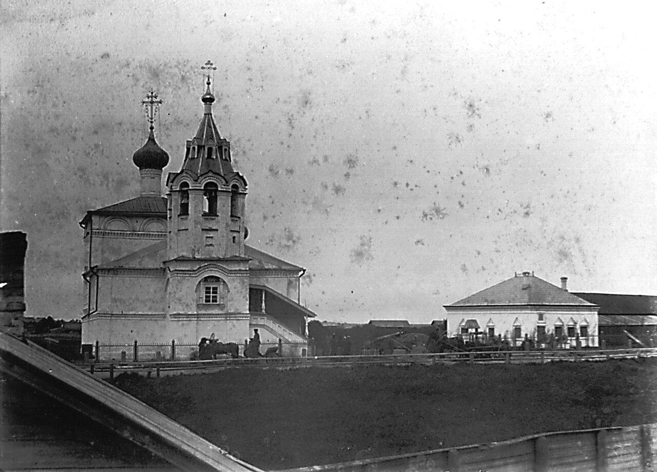 Церковь Св. Феодора Стратилата. Петровский домик