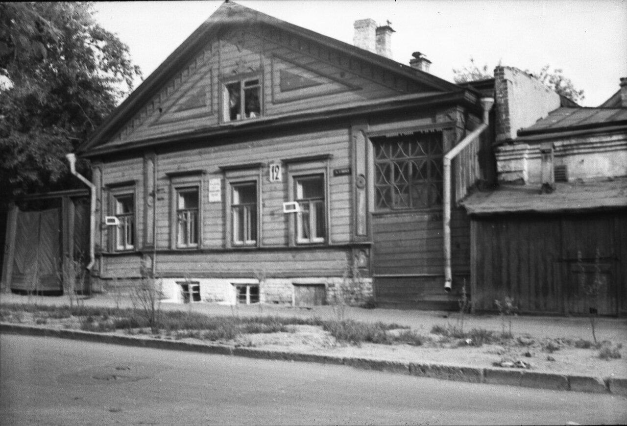 Дом №12 по улице Карла Маркса