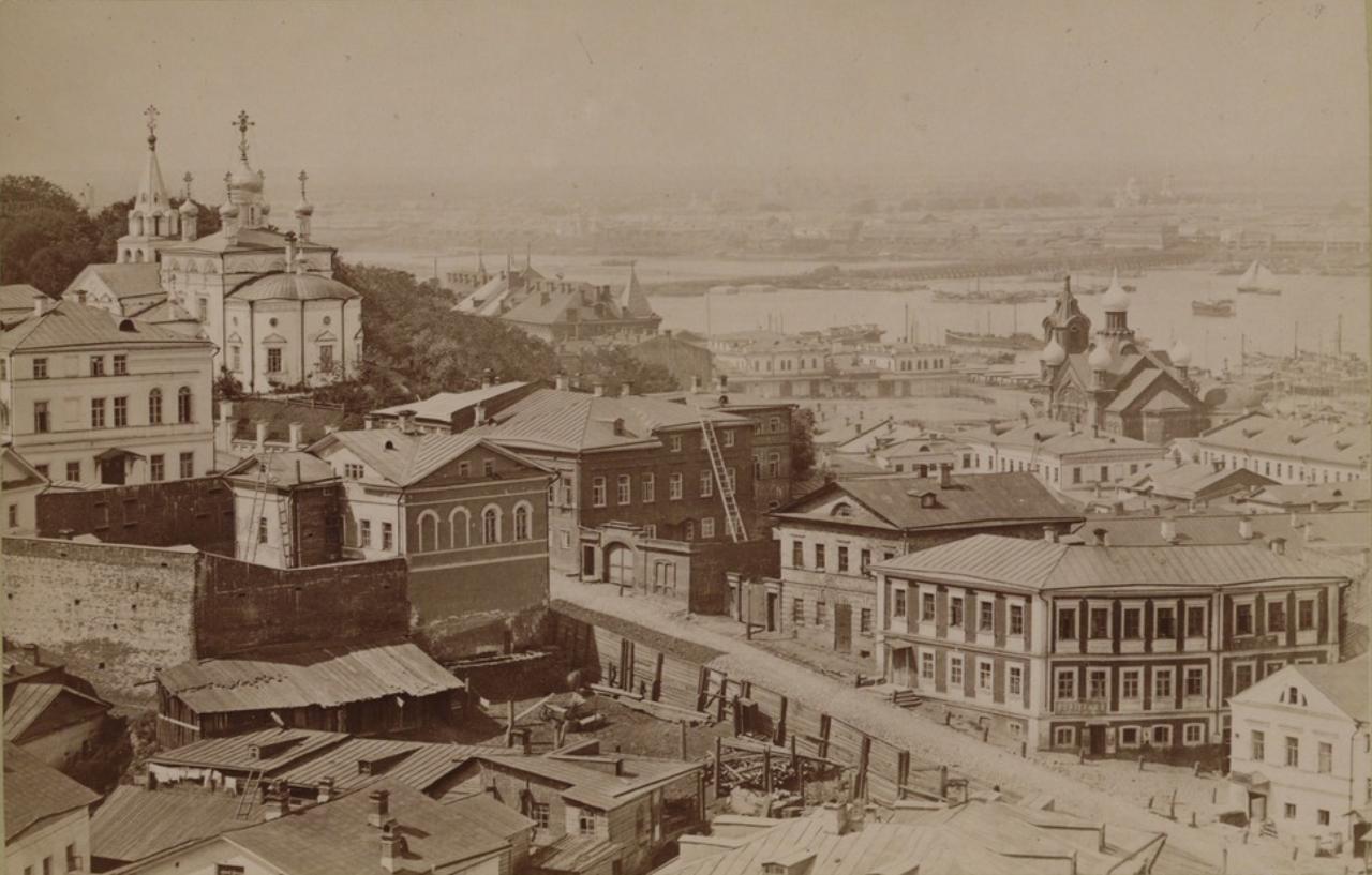 Вид на церковь Св. Илии Пророка. 1880-е.